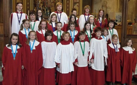 Young Choristers May 2012