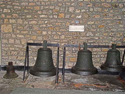 The bells from Santiago